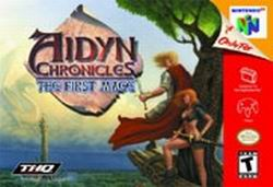 Aidyn Chronicles - The First Mage (USA) Box Scan